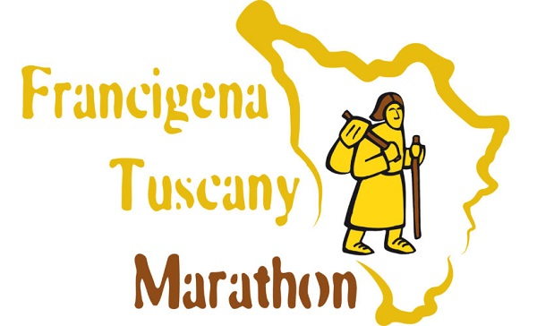 logo Francigena Tuscany Marathon