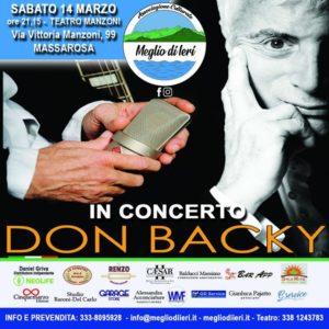 Don Backy concerto