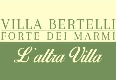 L'altra villa - Rassegna culturale e musicale a Villa Bertelli, nel Giardino dei Lecci. Ingresso gratuito o a pagamento - prenotazione obbligatoria. Dal 5 luglio al 27 settembre 2020