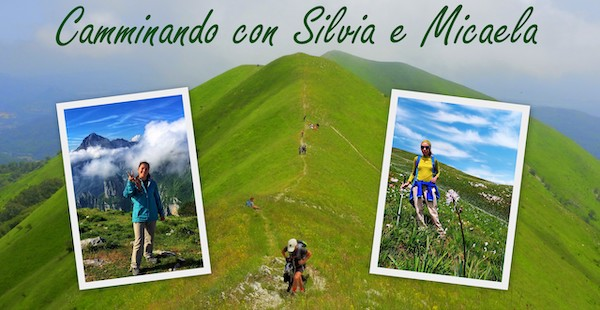 Camminando con Silvia e Micaela