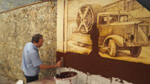 Sgraffiti a Casoli