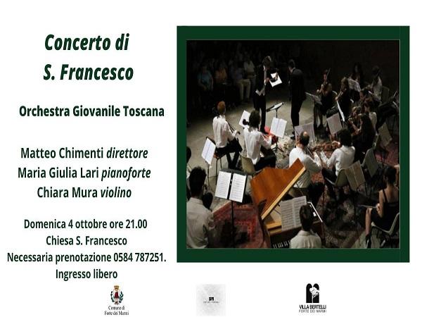 concerto di san francesco
